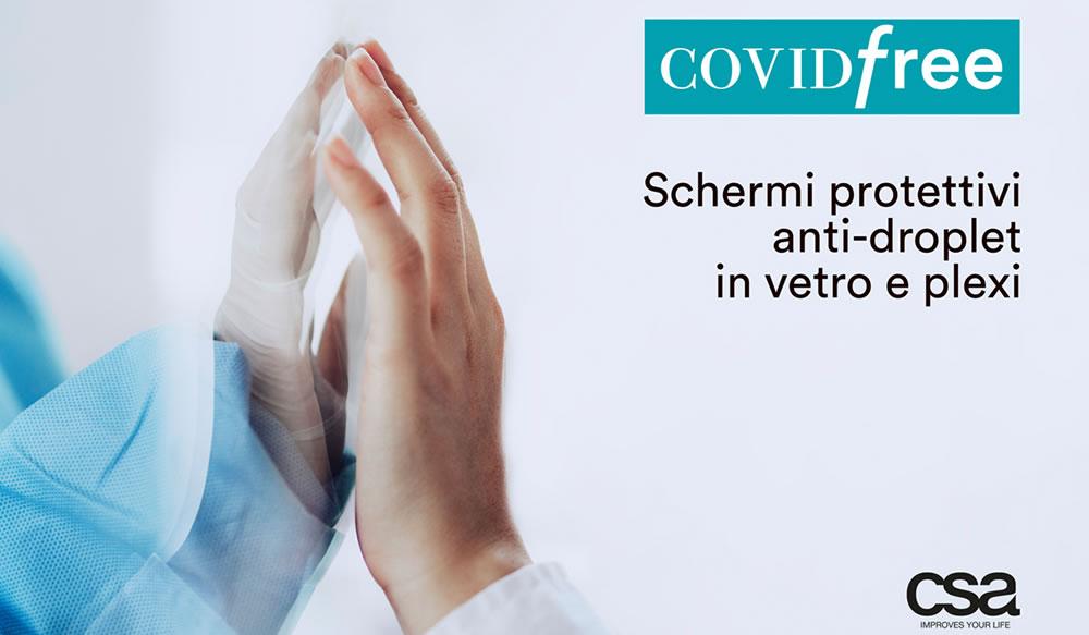 Schermi protettivi COVID-FREE