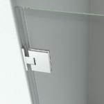 SOFIA N.B/N.2B - Possibilità di fissaggio a muro con cerniera (opzionale)